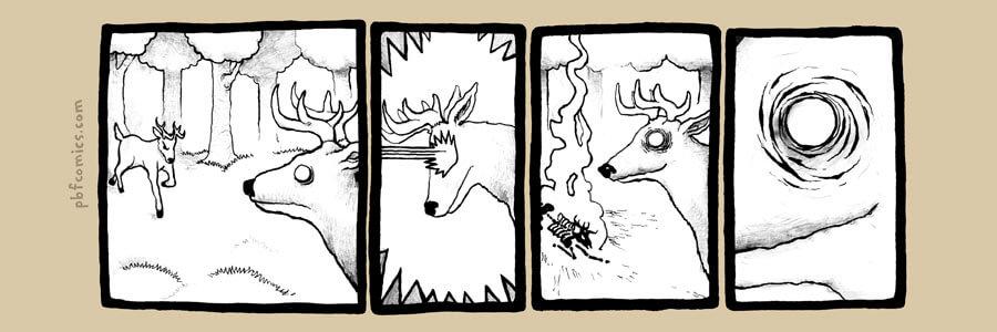Deer Laser Eye