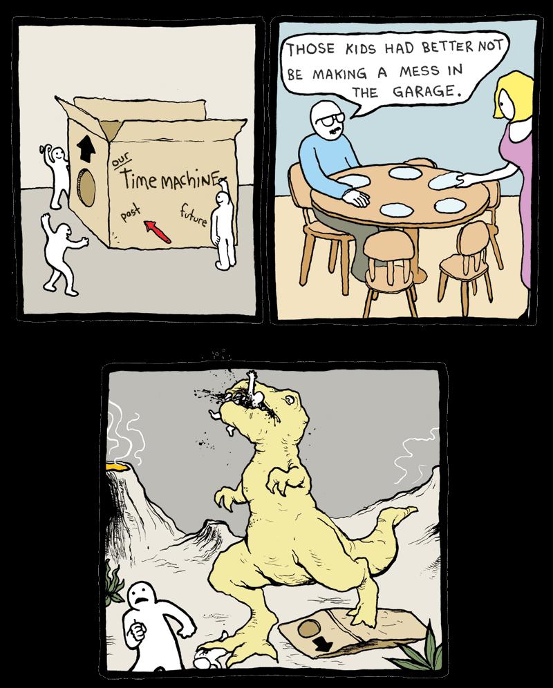 Dinner Time Machine