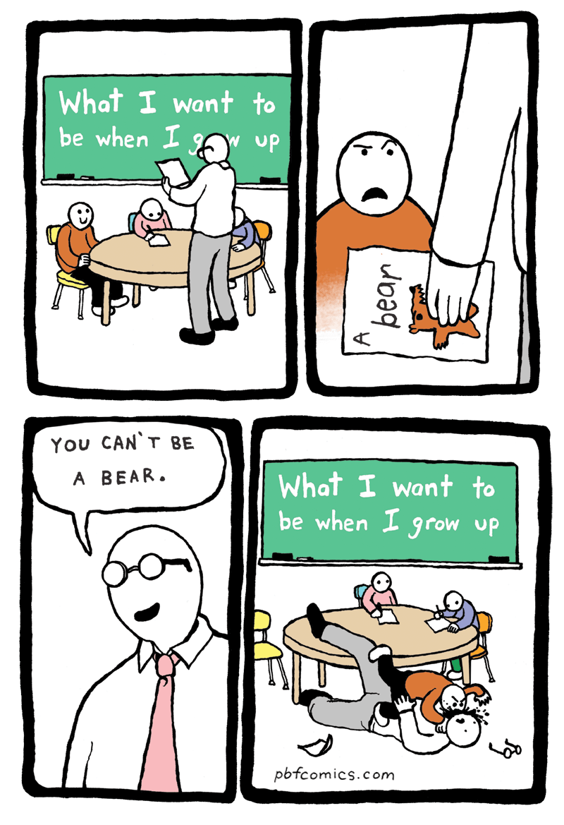 PBF Comics: Bear Boy
