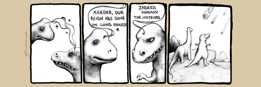 Dinosaur Meteors