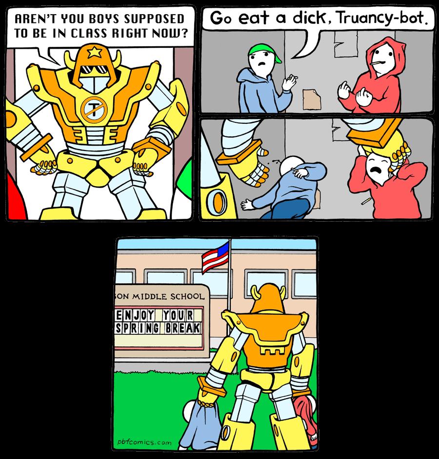 Truancy bot