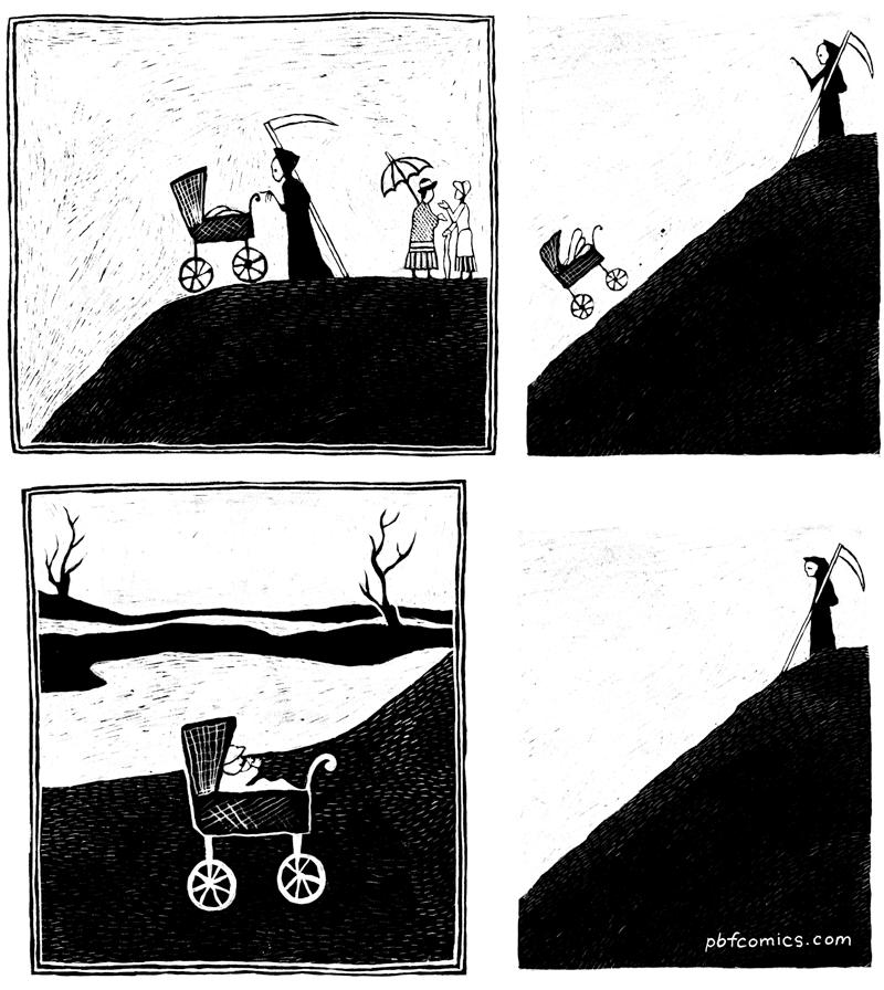 Les douleurs de la mort