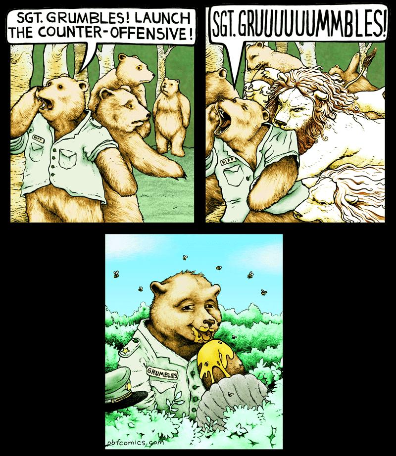 Grumble comic strip picture 389